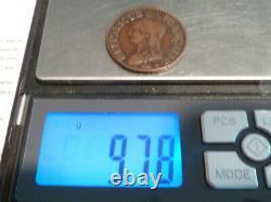 Cir1(550) 5 Centimes Dupre L'an 5 A/i Qualite Ttb! Variante Tres Rare