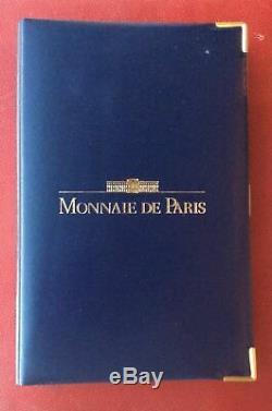 Coffret Be Monnaie De Paris 1992 Avec Certificat Tres Bel Etat Rare