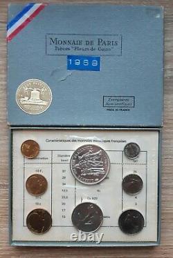 Coffret de monnaies FDC Année 1968 Très Très RARE