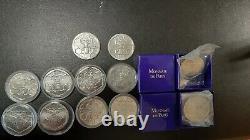 Collection de 12 jetons du différent de Pierre Rodier Monnaie de Paris TRES RARE