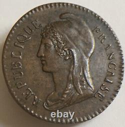 Convention Essai De 25 Centimes An 3 (1795) Très Rare En Létat