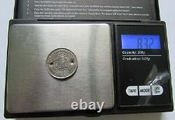 Espagne Très rare 100 reales Isabel II 1862 faux d'époque en platine
