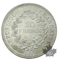 FRANCE-1974 50 FRANCS HYBRIDE AVERS DE 20 FRANCS presque FDC- Très Rare