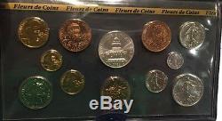Fdc Tres Rare Coffret Fleur De Coins Complet De 1983 @ Qualite @ Petit Tirage