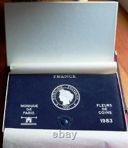 France Coffret Fdc 1983 Rare! Très Beau Coffret