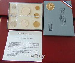 France Coffret Fleur De Coin Fdc Complet 1969 Avec La 10 Francs @ Tres Rare