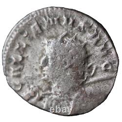 GALLIEN TRES RARE Antoninien Buste à GAUCHECAPRICORNE XIIII eme Légion /LD056