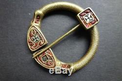 Gauloises Celte Celtic Kelten Tres Rare Fibule Penannular Brooch