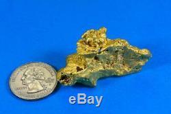 Grand Naturel Or Pépite Australien 52.36 Grammes 1.68 Troy Onces Très Rare