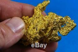 Grand Naturel Or Pépite Australien 64.76 Grammes 2.08 Troy Onces Très Rare