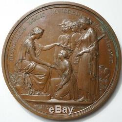 Grande-bretagne Tres Rare Medaille Exposition Au Crystal Palace 1851