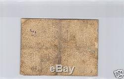 Guadeloupe Cheque De 0,50 Francs 189- N° 001733 Pick 20 A Tres Rare