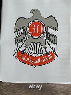Introuvable très rare Emirats Arabe 50 dirhams 1996, 40gr argent 925