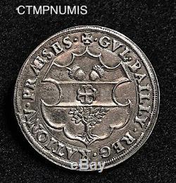 Jeton Argent Henri II Guillaume Bailly Surintendant Des Finances 1550 Tres Rare