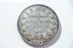 Jetons /médaille France -ecole Beaux Arts Lyon Très Rare- Argent Superbe