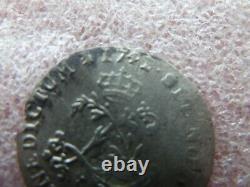 LOUIS XV double sol de billon 1741 R très rare