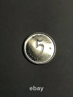 Lot 1 2 et 5 centimes épi 1961 Essai Coffret d'origine très rare SPL