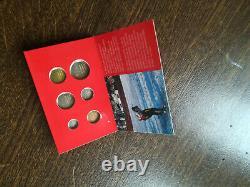 Lot 5 Coffrets PAYS-BAS dont euro Mini BU Très rare 8 pièces 1998 à 2002