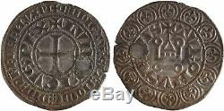 Louis IX, Saint Louis, Gros tournois, TRES RARE 3