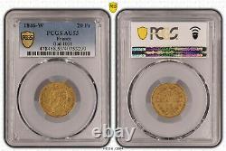 Louis-Philippe 20 Francs or 1846 Lille Superbe PCGS AU53 Très rare