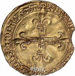 Louis XII Écu d'or au soleil de Provence Tarascon Très rare