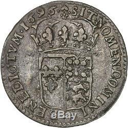 Louis XIV 15 deniers 1696 Pau très bel exemplaire et très rare