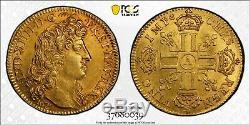 Louis XIV Louis d'or à la tête virile 1679 Paris très rare Splendide PCGS MS61