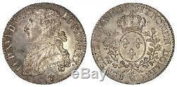 Louis XVI Demi-ecu 1783 La Rochelle très rare NGC MS64 PL Prooflike magnifique