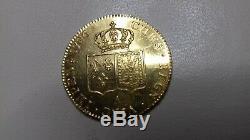 Louis XVI Double Louis D'or 1786 A Etat Exceptionnel Tres Rare