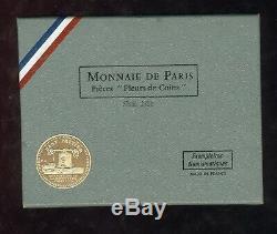 MONNAIE DE PARIS Série 1968 FDC set fleur de coin Très rare année