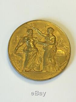 Médaille Société de Géographie Commerciale de Paris 1932 TRES RARE