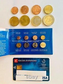 Miniset Officiel Coffret 8 Pièces BU Euro 2002 Pays-Bas Format 1/2 Très Rare