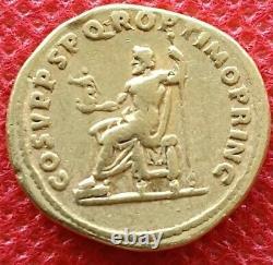 Monnaie, Trajan, Aureus, 113, Rome, Très rare, TTB, Or