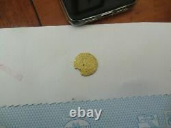 Monnaie, portugal cruzado or MANUEL I er tres rare 6,90grammes