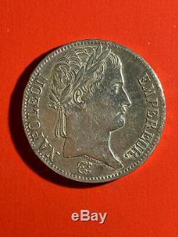NAPOLEON 1er, très belle 5 francs 1812 W Lille superbe état, rare