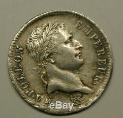 NAPOLEON trés RARE SPL cote 900 euro 1 FRANC 1808 H