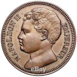 Napoléon II 5 Francs Essai 1816 Très rare Splendide