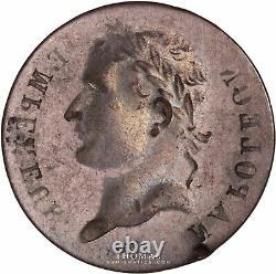 Napoléon Ier 1 Franc Incuse -Très rare