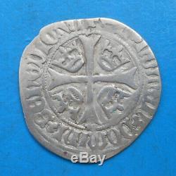 Navarre Jean 1er (II d'Aragon) et Blanche II, blanc, TRES RARE