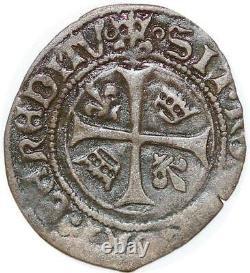 P2080 Très Rare! Hardi Louis XII La Rochelle point 9 SUP! LE PLUS BEAU CONNU