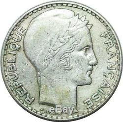 P4467 Très Rare 20 Francs Turin 1939 Argent Faire offre