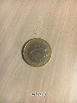 PIECE 1 EURO IRLANDE EIRE de 2002 très rare