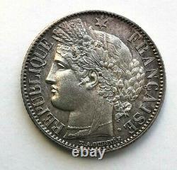 PL 24 1 Francs Cérès IIe République 1851 (TRES RARE)