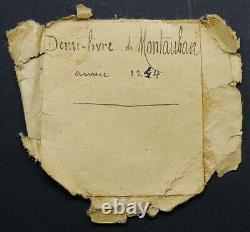 POIDS DE VILLE DE MONTAUBAN DEMI LIVRE 1244 TRES Rare LOUIS IX SAINT LOUIS