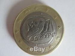 Piece 1 Euro 2002 Tres Rare Frappe S