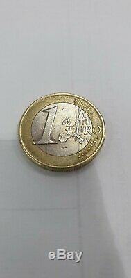 Pièce 1 euro Grèce année 2002 frappée s dans étoile inf très rare