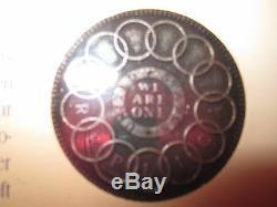 Piece Tres Rare Fugio Cent En Coffret America's First Coin Luck Porte Bonheur