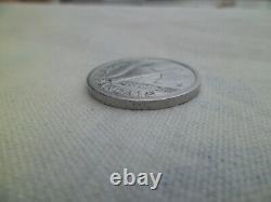 Pièce de 1 Franc 1943 Etat Français POIDS FORT 1,60 Grs ALU TRES RARE