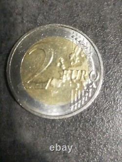 Pièce de 2 euros très Très Rare Commémorative Allemand