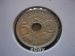 @ Pièce de 5 Centimes 1920 Essai FDC @ Très RARE @